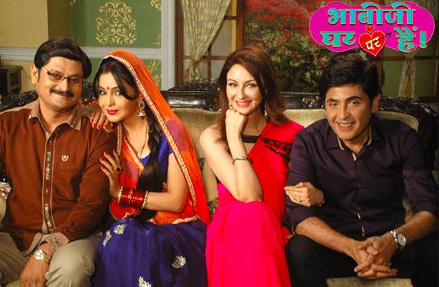 Bhabhiji Ghar Par Hai tv serial poster