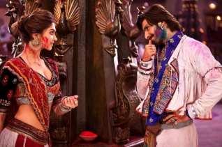Ranveer Singh and Deepika Padukone in Raam leela Movie