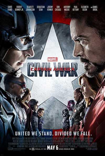 कैप्टन अमेरिका – सिविल वॉर movie poster