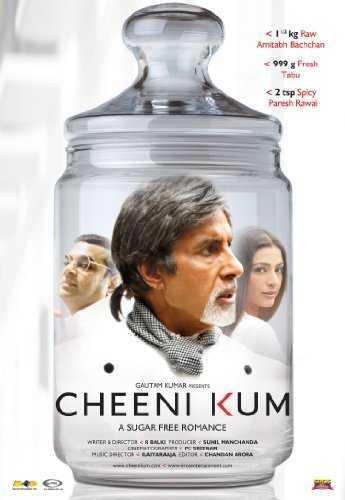 Cheeni Kum movie poster