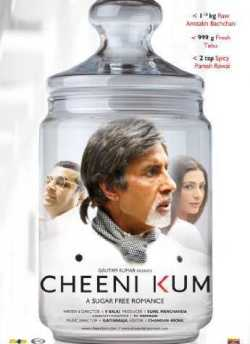 Cheeni Kum movie poster