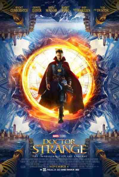 डॉक्टर स्ट्रेंज movie poster