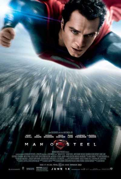 मैन ऑफ स्टील movie poster
