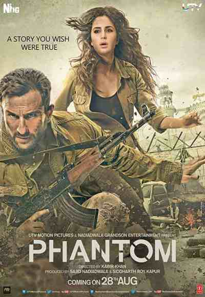 Phantom movie poster