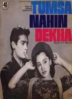 Tumsa Nahin Dekha movie poster