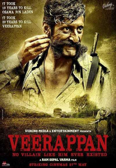 Veerappan movie poster