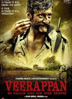 Veerappan movie poster