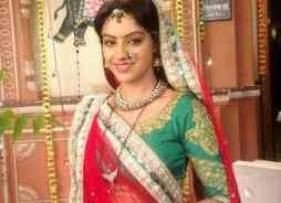 Deepika Singh as Sandhya in the serial