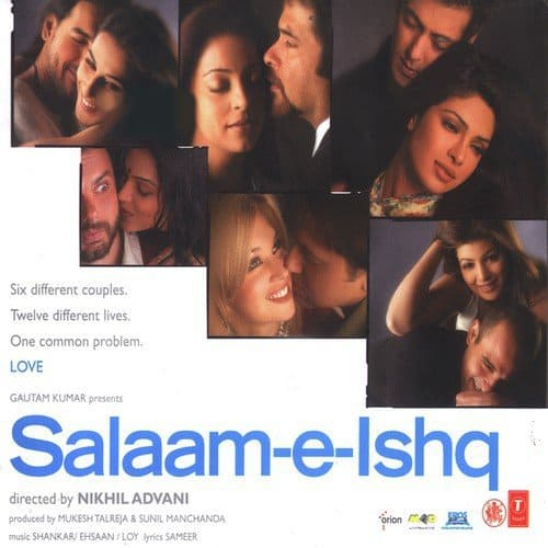 Salaam E Ishq album artwork