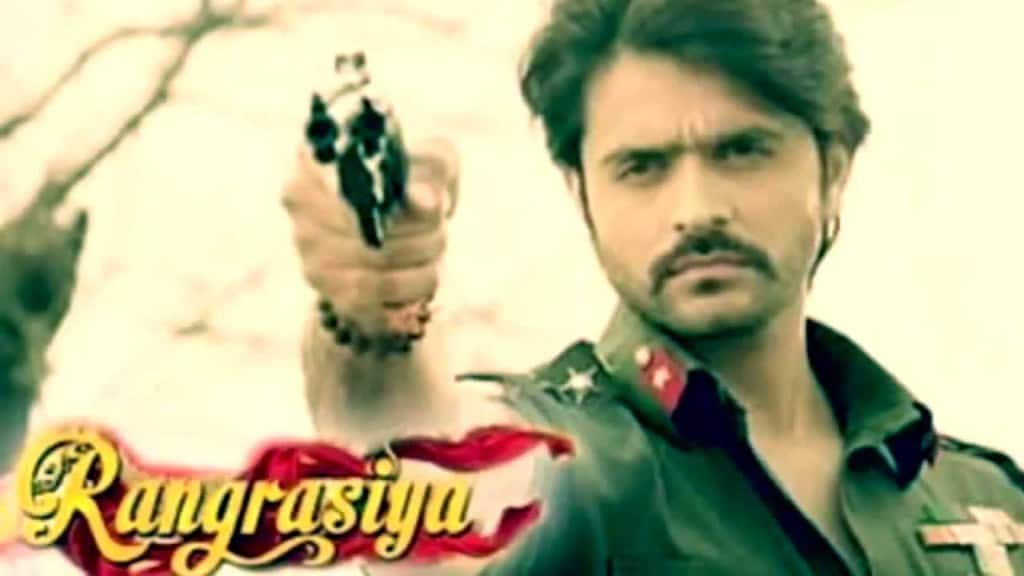 Rangrasiya tv serial poster