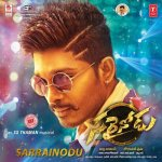 Sarrainodu album artwork