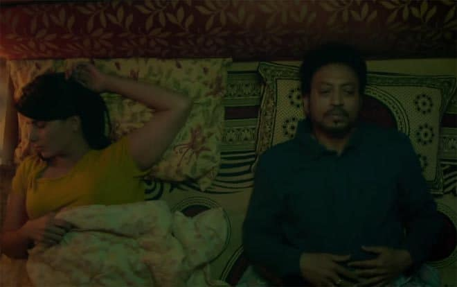Irrfan Khan and Kirti Kulhari in Blackmail