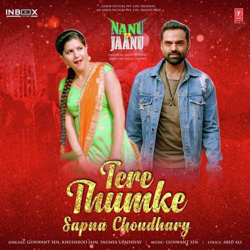 Tere Thumke Sapna Chaudhary album artwork