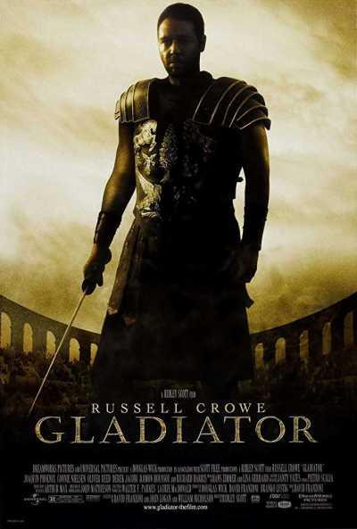 ग्लैडिएटर movie poster