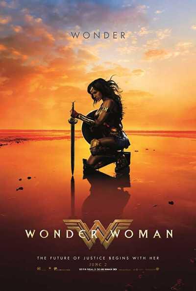 वंडर वुमन movie poster