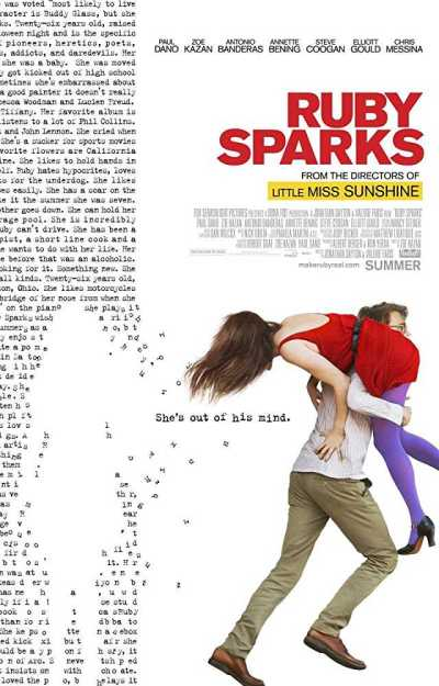 रूबी स्पार्क्स movie poster