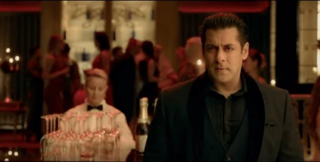 Salman Khan in the movie Race 3