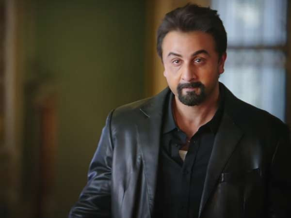 A still from movie Sanju