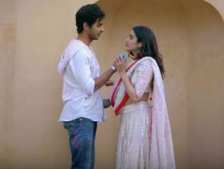 A Still from the movie Dhadak