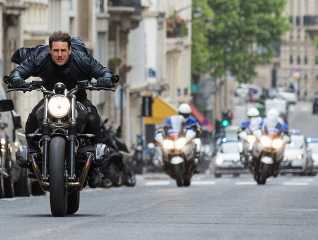 Tom Cruise in Mission Impossible 6