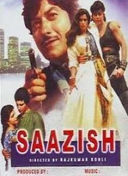 Saazish movie poster