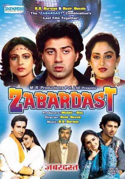Zabardast movie poster