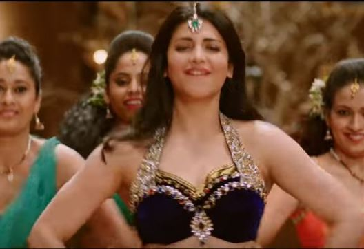 Shruti Haasan in Katamarayudu