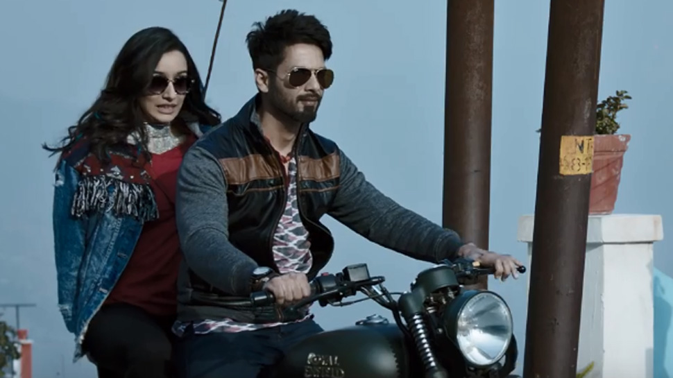 Shahid Kapoor and Shraddha Kapoor in BGMC