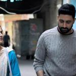 Taapsee Pannu and Abhishek Bachchan in the movie