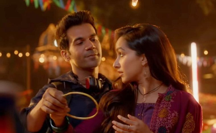 Rajkummar Rao and Shraddha Kapoor in Stree
