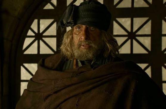 Amitabh Bachchan in Thugs of Hindostan