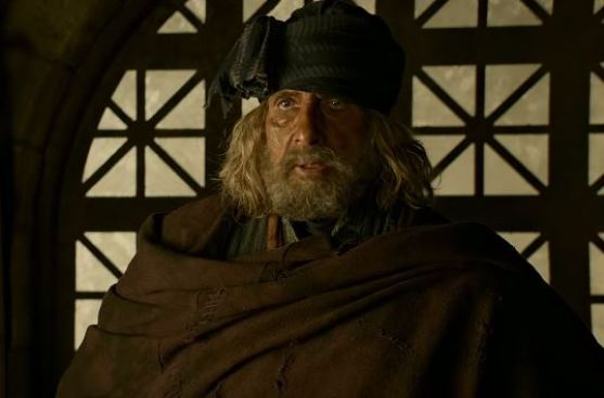 Amitabh Bachchan in Thugs of Hindostan