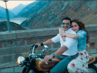 Ranveer Singh and Sara Ali Khan in SImmba