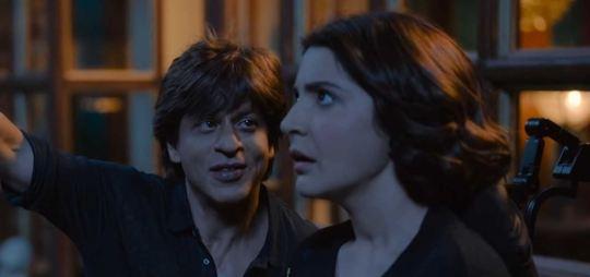 Shahrukh Khan and Anushka Sharrma in Zero