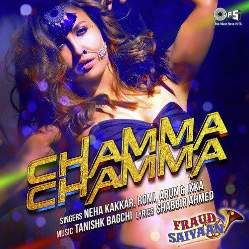 Chamma Chamma album artwork