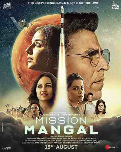 Mission Mangal movie poster