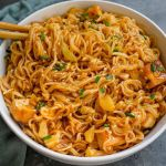 Saucy Sweet and Spicy Noodles