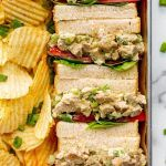 "Vegan ""Chik'n"" Salad Sandwiches"