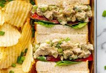 "Vegan ""Chik'n"" Salad Sandwiches"