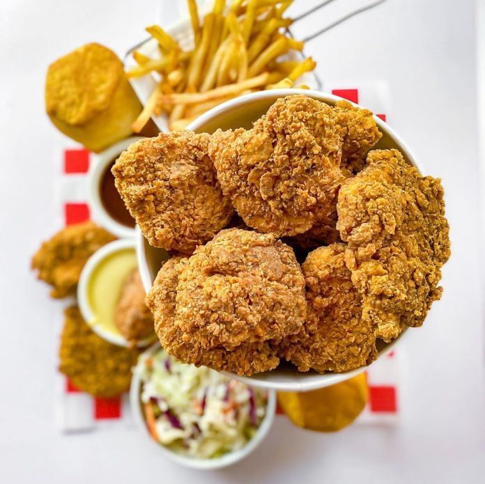 "Vegan Fried ""Chick'n"""