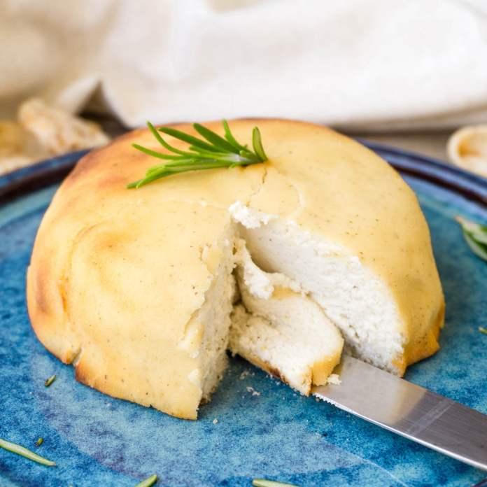 Baked Macadamia Feta by The Tasty K