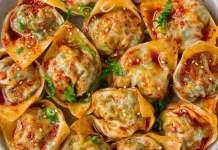 Vegan Spicy Steamed Dumplings