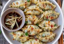 Vegan Tofu Bokchoy Potstickers