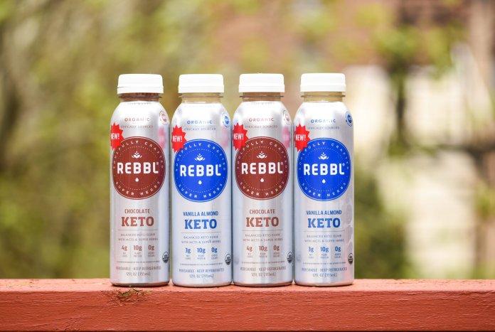 REBBL Vegan Keto Elixirs