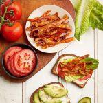 "Vegan BLAT Sandwich with Carrot ""Bacon"""