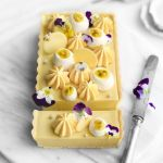 Passion Fruit Tart with Coconut Chantilly Cream