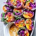 Vegan Rainbow Rolls