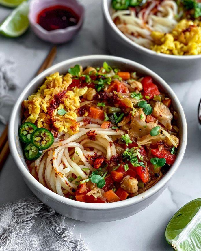 Vegan Uzbek Cuisine: Laghman