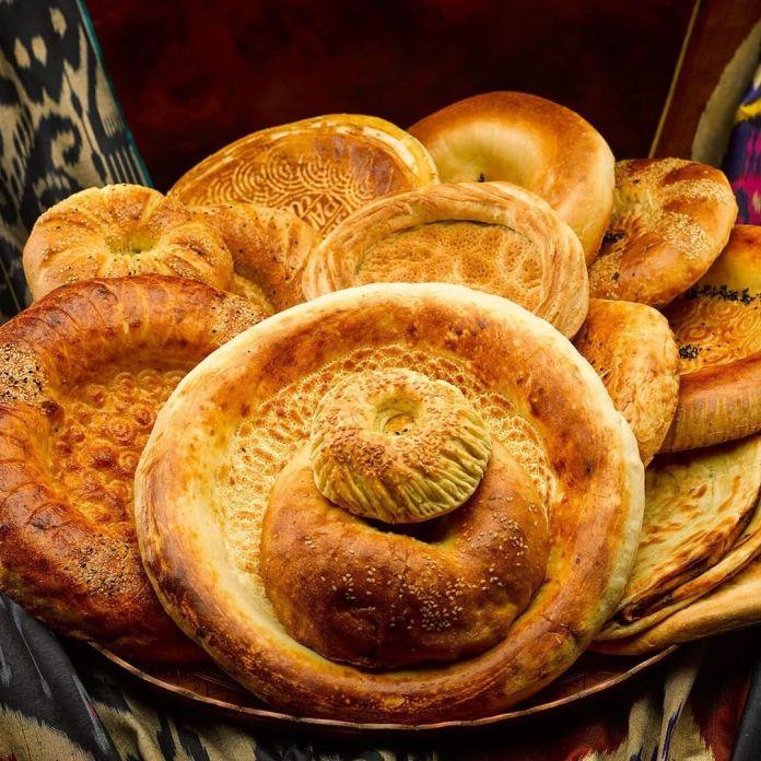 Vegan Uzbek food: Non
