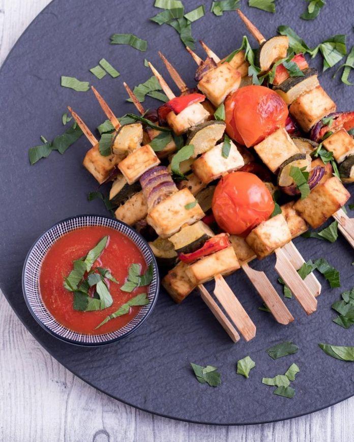 Vegan Uzbek Cuisine: Shashlik